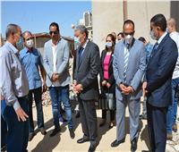 محافظ المنيا يتابع أعمال تطوير وتوسعة مستشفى الصحة النفسية