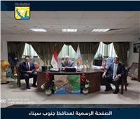 محافظ جنوب سيناء يستقبل عدداً من متدربي البرنامج الرئاسي لتأهيل الشباب للقيادة