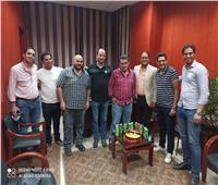 صحفيو «أخبار اليوم» يحتفلون بتولي الزميل محمد سعد رئاسة الديسك المركزي