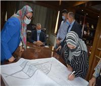 محافظ القليوبية يعتمد المخطط الاستراتيجي لمدينة قها