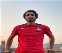 أحمد حجازي يتألق بقميص منتخب مصر الجديد