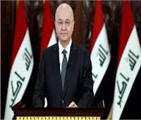 الرئيس العراقي يؤكد أهمية الانتخابات النيابية المقبلة