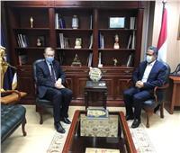 العناني يبحث التعاون بين مصر والاتحاد الأوروبي في مجال العمل الأثري والسياحي