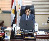 وزير الرياضة يشارك في لقاء الاتحاد العربي للصحافة الرياضية عبر الفيديو كونفرانس