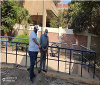 رئيس «مياه المنوفية» يتابع تنفيذ الأعمال بخط طرد محطة الصرف الصحي بسرس الليان