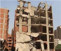 ضبط 4 حالات بناء في قرية «نوب طحا» بالقليوبية