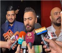 فيديو  رسائل تامر حسني لصناع فيلم «الخطة العايمة»