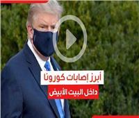 فيديوجراف| أبرز الإصابات بـ«فيروس كورونا» داخل البيت الأبيض