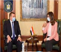 تفاصيل لقاء وزيرة الهجرة ووزير الإعلام لنشر مبادرة «اتكلم مصري»