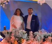 فيديو | أحمد خالد صالح وهنادي مهنا يحتفلان بعقد قرانهما