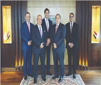 البنك الأهلي الأول بالسوق المصرفية المصرية في القروض المشتركة
