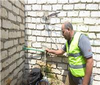 توصيل المياه وتعريش أسقف ٤٥٠ منزل بسوهاج