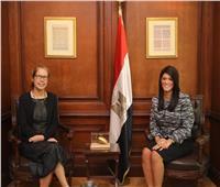"""""""المشاط"""" تبحث مع البنك الدولي الشراكة الإستراتيجية بين مصر والمجموعة"""