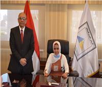 """نائب وزير الصحة يشارك في مبادرة """"فتيات في أدوار قيادية"""""""