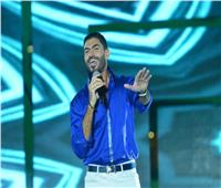 خالد سليم يتألق في حفله بالجلالة بمناسبة ذكرى انتصارات أكتوبر
