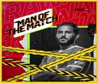 مروان محسن رجل مباراة الأهلي وإنبي