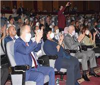 وزيرة الثقافة ومحافظ الجيزة يشهدان احتفالية أكاديمية الفنون بنصر أكتوبر