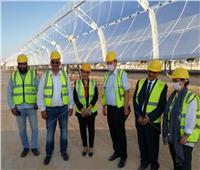 «برجر» يزور محطة مركزات الطاقة الشمسية بأكاديمية البحث العلمى ببرج العرب