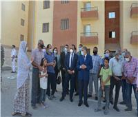 محافظ المنيا يتفقد مشروع إسكان المنحة الإماراتية بالزهراء