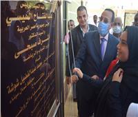 محافظ شمال سيناء يفتتح عددا من المشروعات ببئر العبد