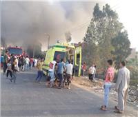 السيطرة على حريق بمصنع «حليج أقطان» بقرية سندسيس بالمحلة الكبرى