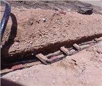 صور | خط كهرباء ضغط عالي يهدد حياة المواطنين في نجع حمادي
