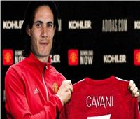 «كافاني» على رأس تشكيلة مانشستر يونايتد للقائمة الأوروبية