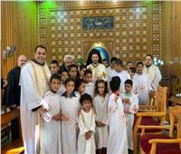الأنبا باخوم يترأس فعاليات اليوم التكويني لخدام التربية الدينية بكفر الدوار