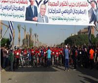 «وزير الشباب والرياضة» يطلق «مهرجان الدراجات» بمشاركة 20000 شاب