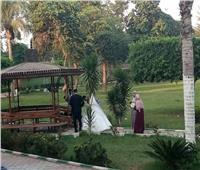 صور| «فوتوسيشن» بأسعار رمزية للعرسان في «القناطر الخيرية»
