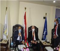 وزير المالية ومحافظ جنوب سيناء يفتتحان الملتقى الثانى للمعرفة والتطبيق