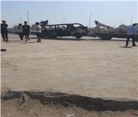 فيديو.. 5 ضحايا و7 مصابين في حريق سيارة ميكروباص في شبرا الخيمة