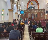 """تحت شعار """"كلمة الله"""".. كاتدرائية العذراء بقويسنا تنظم يومًا روحيًّا للشباب"""