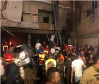 صور|انفجار خزان مازوت بالعاصمة اللبنانية بيروت