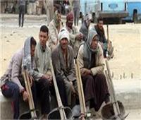 صرف إعانات اجتماعية وصحية للعمالة غير المنتظمة بالوادي الجديد