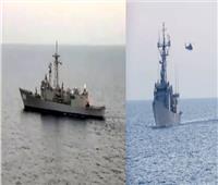 البحرية المصرية والأسبانية تنفذان تدريباً بحرياً عابراً بالبحر المتوسط