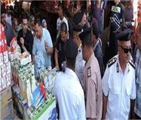 محافظ المنيا: تحرير 54 مخالفة تموينية وضبط 7 أطنان أرز فاسد
