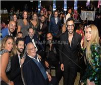 صور| نجوم الفن والرياضة يجتمعون في حفل زفاف شريف منير حسن