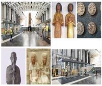 بالصور .. «توت عنخ آمون» و70 آلف قطعة أثرية فى ضيافة  «المتحف الكبير»
