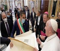 البابا فرنسيس يستقبل وفدًا من إيبارشية «رافينّا - تشيرفيا»