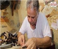 محمود صالح .. حكاية أقدم صانع أحذية بالية فى مصر .. فيديو