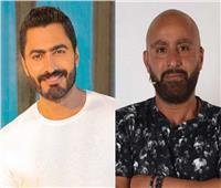 بعد معاتبته بسبب أفيش «الفلوس».. تامر حسني يرد على أحمد السقا