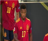 «فاتي» أصغر هداف في منتخب إسبانيا