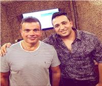 «كل سنة وأنت شايل الصناعة فوق كتافك».. هكذا هنأ تامر حسين عمرو دياب