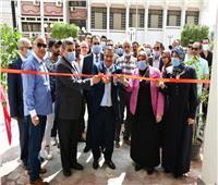 افتتاح المبنى التعليمى الجديد لكلية التجارة جامعة قناة السويس