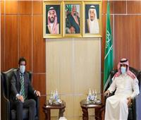 السفير آل جابر يلتقى السفير الأرجنتيني