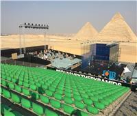 الأهرامات تستقبل الدور 16 لبطولة مصر الدولية للاسكواش