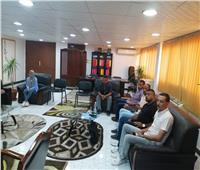 إلزام مكاتب النقل الجماعي في سفاجا بإتباع الإجراءات الاحترازية