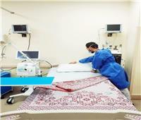 تشغيل وحدة الرعاية المتوسطة بمستشفى الزهور ببورسعيد