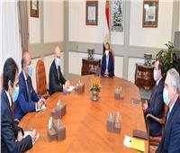 """السيسي يستقبل الرئيس التنفيذي لشركة """"إيني"""" الإيطالية للبترول"""